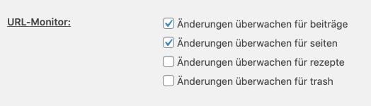 Automatischer URL Monitor für Weiterleitungen bei Permalinks