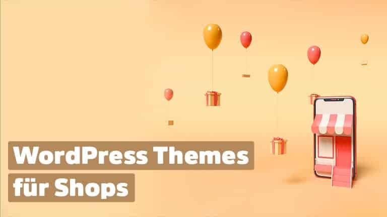 Wordpress Designs für Online-Shops