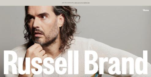 Avada Beispiel Russell Brand
